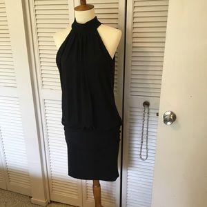 B.Smart sexy black dress